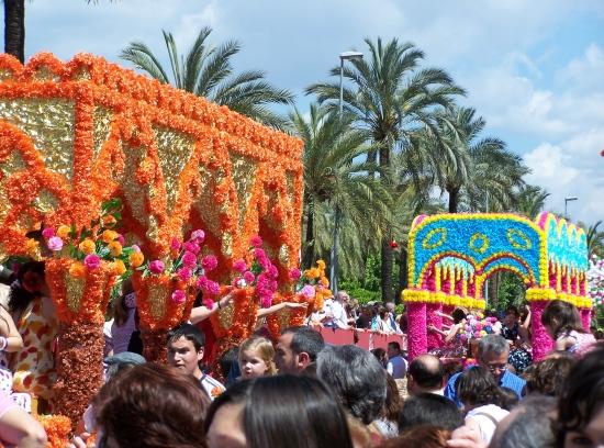 La Batalla de las flores de Córdoba